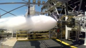 3D rocket engine preburn